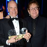 Wilko Johnson and Sir Elton John