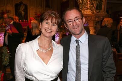 Julie Whelan and Simon Procter