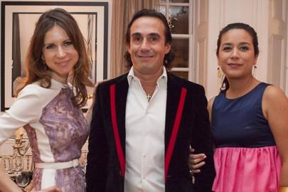 Sophie Goodwin, Fernando Moncho Lobo and Veronica Moncho Lobo