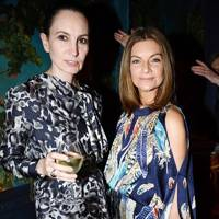 Paula Reed and Natalie Massenet