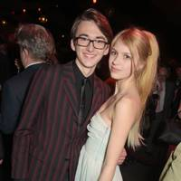 Isaac Hempstead-Wright and Nell Tiger Free