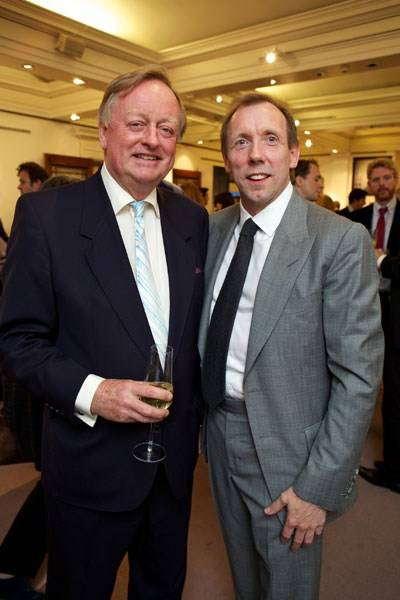 Brigadier Andrew Parker Bowles and David Dawson