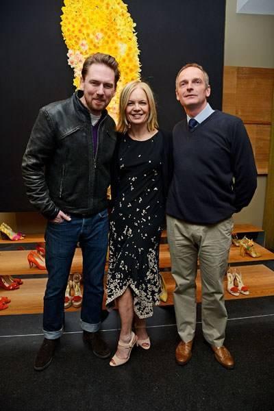 Rupert Sanderson, Mariella Frostrup and Adrian Scamp