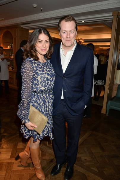 Katie Nicholl and Tom Parker-Bowles