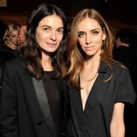 Chiara Ferragni and Leila Yavari