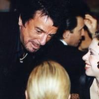 Nicky Haslam and Chelsea Clinton