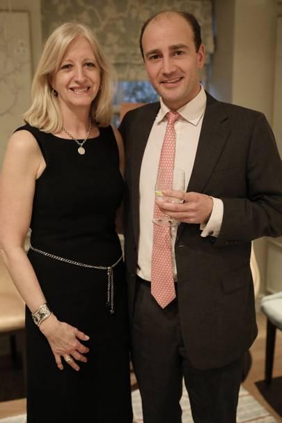 Patricia Stevenson and James Amos