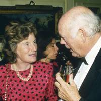 Mrs William Spiegelberg and Lord Montagu of Beaulieu
