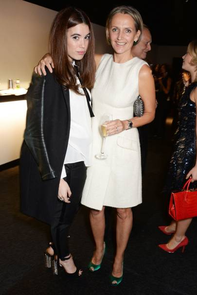 Gala Gordon and Saffron Aldridge