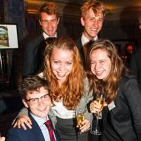 Charles Graham, Joshua Wade, Oliver Perkins, Kate Apley and Thea Boss