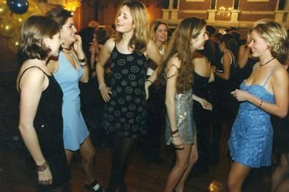 Willa Watson, Olivia Rigg, Lady Kate Fortescue, the Hon Zara Brassey and Camilla Moss