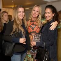 Venetia van Hoorn Alkema, Alice Naylor-Leyland and Nura Khan