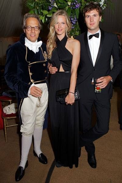 Lord March, Olivia Hunt and Isaac Ferry