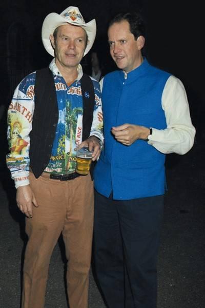 Chris Jagger and Nick Allan