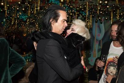 Nick Cave and Pam Hogg