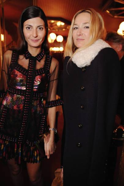Giovanna Battaglia and Julie de Libran