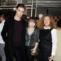 Max Irons, Emily Browning and Nicole Farhi