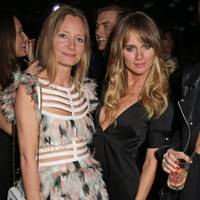 Martha Ward and Cressida Bonas