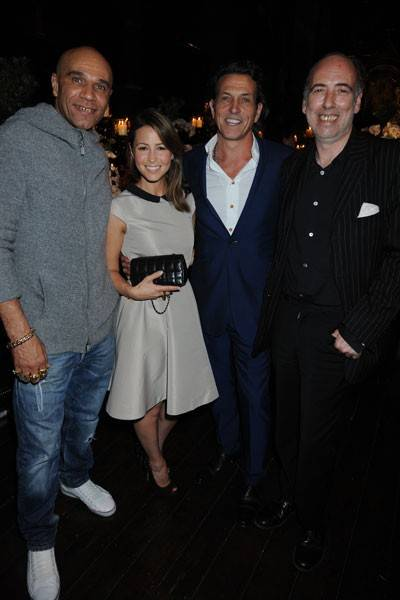 Goldie, Rachel Stevens, Stephen Webster and Mick Jones