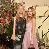 Ella Richards and Lottie Moss
