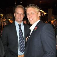 Alex Partridge and Lewis Moody