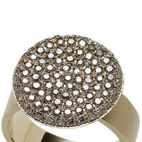 Gold & diamond ring, £3,225, by Dina Kamal at Dover Street Market