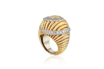 Cartier diamond dress ring
