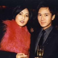 Mrs Andy Wong and Andy Wong