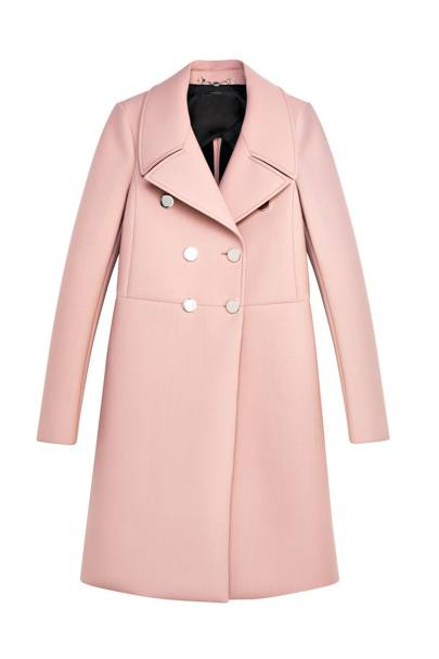 Wool gabardine coat, £1,240, by Gucci
