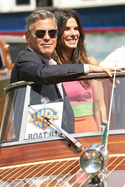 George Clooney and Sandra Bullock