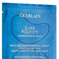 Super Aqua Eye Patches, £73 for six sachets, by Guerlain