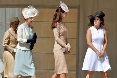 The Duchess of Gloucester and The Princess Royal, The Duchess of Cambridge and Princess Eugenie