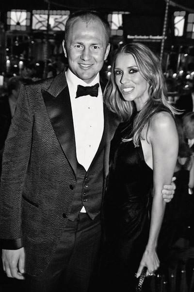 Andrey Melnichenko and Mrs Andrey Melnichenko