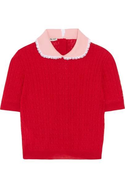 Miu Miu cashmere jumper