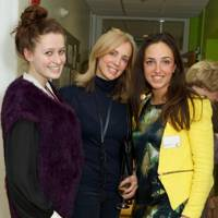 Isabella Hislop, Sophie Ruddock and Barbara Vittoria