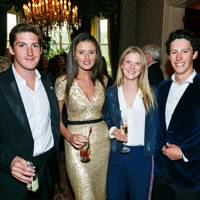 George Meyrick, Isabella O'Duffy, Saskia Meadows and Hugo Lewis