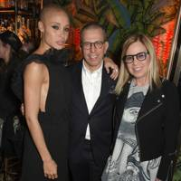 Adwoa Aboah, Jonathan Newhouse and Ronnie Cooke Newhouse
