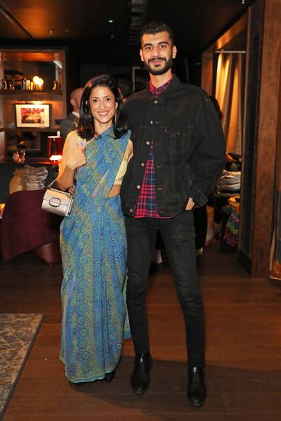 Fatima Bhutto and Shahmir Sanni