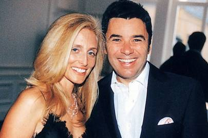 Mrs Christopher Getty and Pedro Girrao