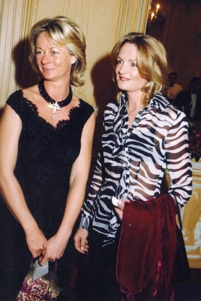 Lucinda Burrell and Lady Lloyd Webber