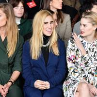 Doutzen Kroes, Zosia Mamet and Virginia Gardner