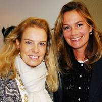 Sarah de Goldschmidt Rothschild and Claudia Davies