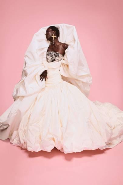 Vestido de Novias Alta Costura Schiaparelli