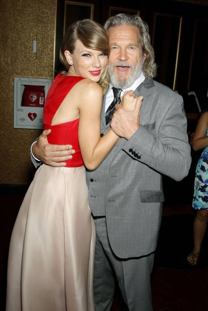 Taylor Swift and Jeff Bridges
