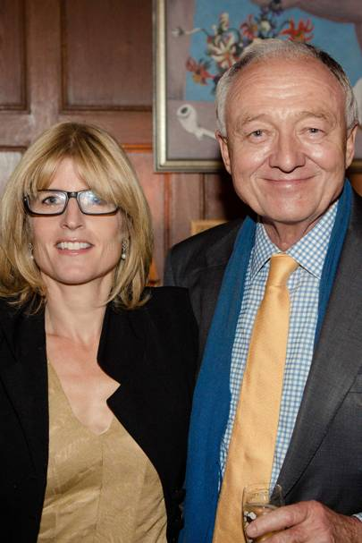 Rachel Johnson and Ken Livingstone