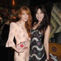 Florence Welch and Daisy Lowe