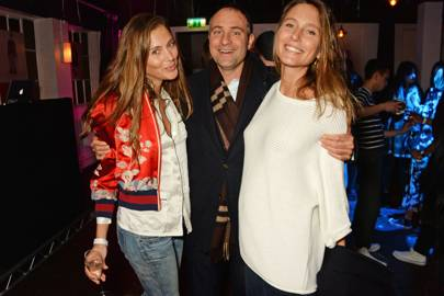 Quentin Jones, Ben Goldsmith and Jemima Goldsmith