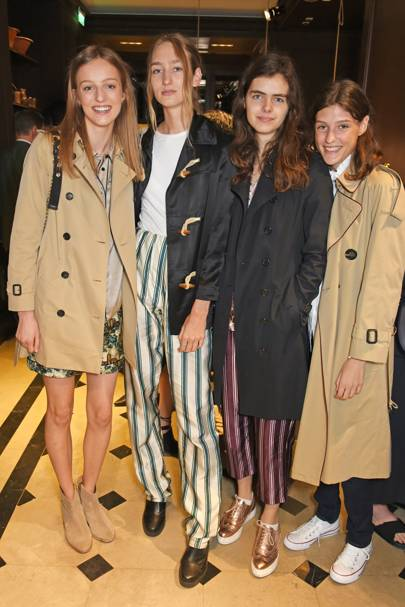Hebe Flury, Tamara Long, Maya Gunn and Ella King