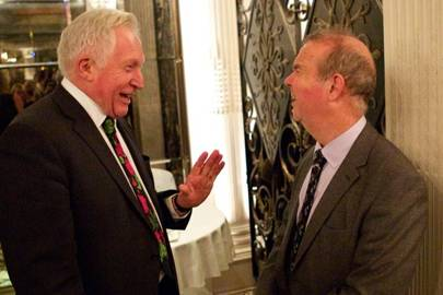 David Dimbleby and Ian Hislop