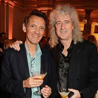 Denis Pellerin and Brian May